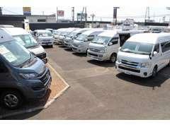 新車輸入車バンコン・キャブコン・トレーラーの取り扱いがございます!新車即納モデルもございます!