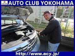 オートクラブ横浜は商品化に命を懸けてます。中古車ですので徹底して綺麗に!!商品化工程をご覧下さい。外装磨きからです→へ続く