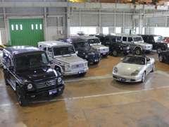 人気の車種を多数展示しています!お気軽にお越しください。
