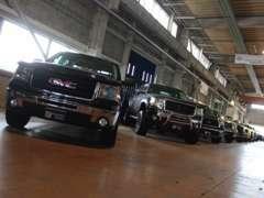 トレーラヘッドにもピッタリのピックアップトラックも多数在庫!