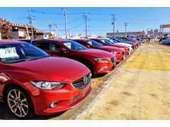 マツダ車が多数在庫としてございます!きっとご希望の1台が見つかると思います!