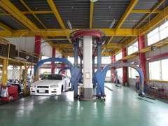 全自動モノレール車検整備システム6ステーション4キャリア