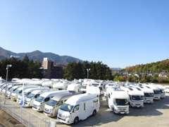 新車・輸入車・中古車、バンコン・バスコン・キャブコン・トレーラー・軽キャンなど!! 実車をご覧頂けます!