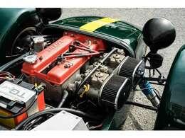 非常によく手入れ&チューニングされており、エンジンも点火系を中心に強化されているので、一発で軽やかに始動。アイドリングも安定して強いです。今回ブレーキマスターとライニング及びシリンダーも交換ご納車