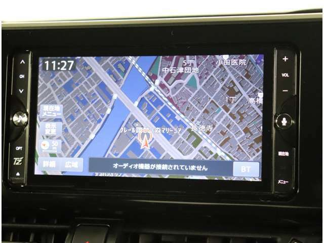 フルセグテレビ対応SDナビ装備!