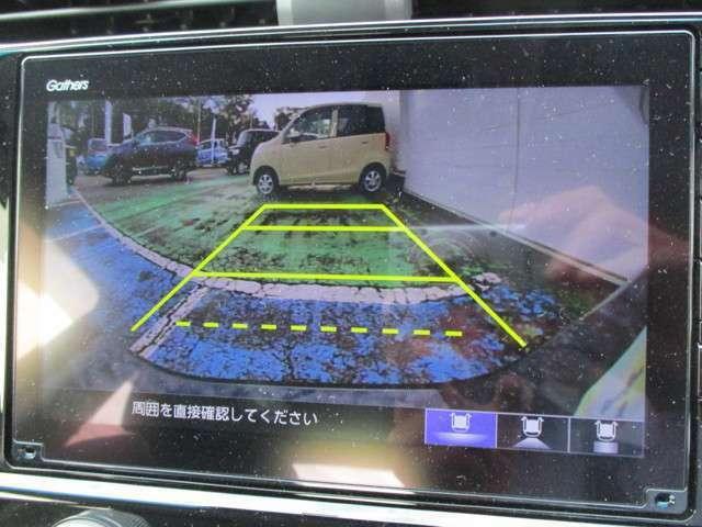 駐車が苦手な方や、女性も安心!バックカメラもついてます♪