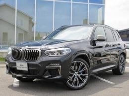 BMW X3 M40i 4WD SR21AW黒革LEDハーマンMブレーキ1オナ