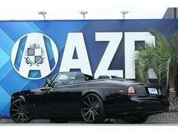 ロールスロイス ドロップヘッド 2013y 正規ディーラー車 各種カスタム塗装済 SKYFORGED26インチ ローダウン 入庫しました!