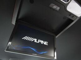 ■ 装備2 ■ ALPINE大型フリップダウンモニター:ALPINE社の大画面、高画質なフリップダウンモニター!