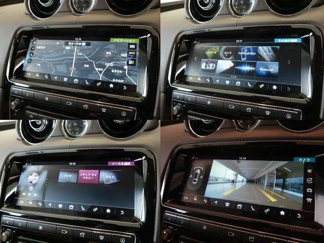 デジタルテレビ内蔵ナビゲーション。Bluetoothなどのメディアにも対応しております。タッチパネル式となっており操作性もよく設計されております。