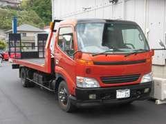 積載車も準備しています!!事故や故障時での引き取りや遠方への納車などにも対応致します!!