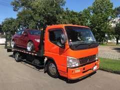 自社積載車で全国どこでも納車!故障、事故にも迅速に対応!
