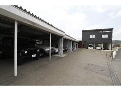 当社の車両は品質保持の為、ガレージ保管を基本としております。