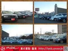 新車、中古車。軽自動車から、普通車、輸入車まで幅広く取り揃えております!店頭にない車輌もお探しできます♪