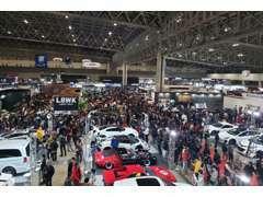 チューニングカーの祭典とも呼ばれる東京オートサロン(とうきょうオートサロン)にクオリティーガレージも出展!