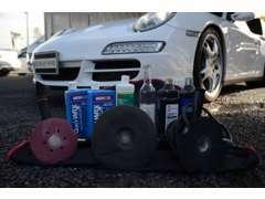 全車、外装鏡面磨き内装クリーニングはサービスしております!