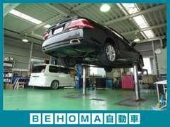車輌のご購入だけでなく、整備もお任せください!