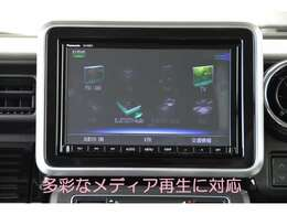 全方位モニター純正8型大画面フルセグ地デジ高詳細ナビ、DVD再生&CD録音&SD&USB接続&Bluetooth接続&分離型ETC車載器(セットアップ料込)&フロアマットを取り付け済みでお渡しです!