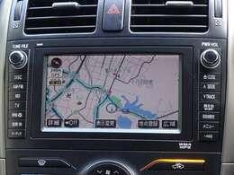 何処でも行きたい場所へ、安心のトヨタ純正HDDナビを装備してます。