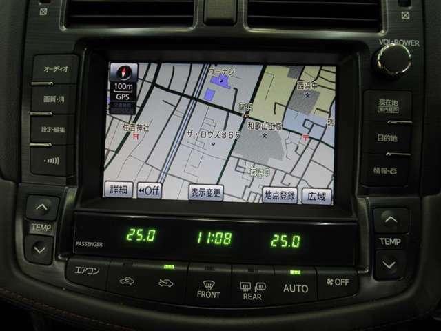 エアコン操作や車両設定が出来るマルチビジョンにはHDDナビ内蔵で知らない場所へもお出かけ楽々です!