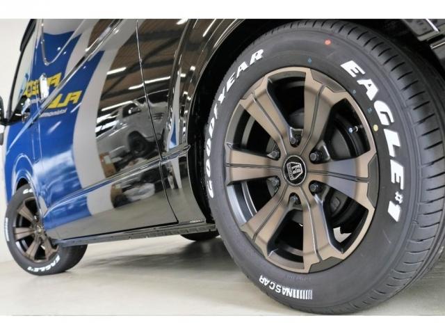 タイヤには車検対応のグッドイヤーナスカータイヤをセレクト