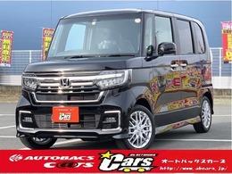ホンダ N-BOX カスタム 660 L ターボ 新車装備11点付 MC後 クリアランスソナー