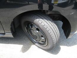 タイヤの溝の状態です。