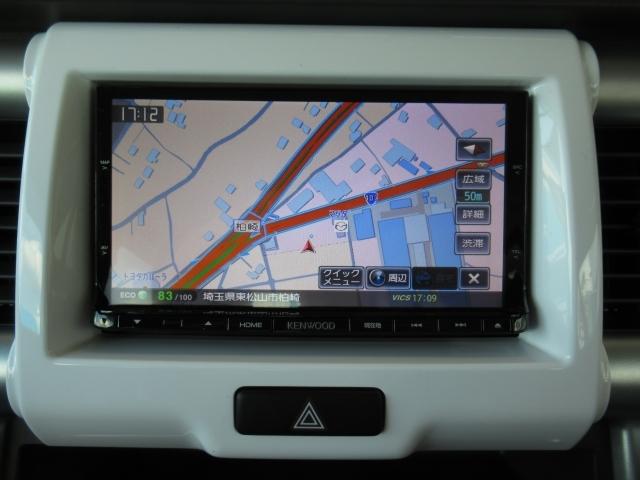 メモリーナビ搭載なので、遠方へのドライブもお任せ下さい!とても見やすく、配置、設計されていますよ★