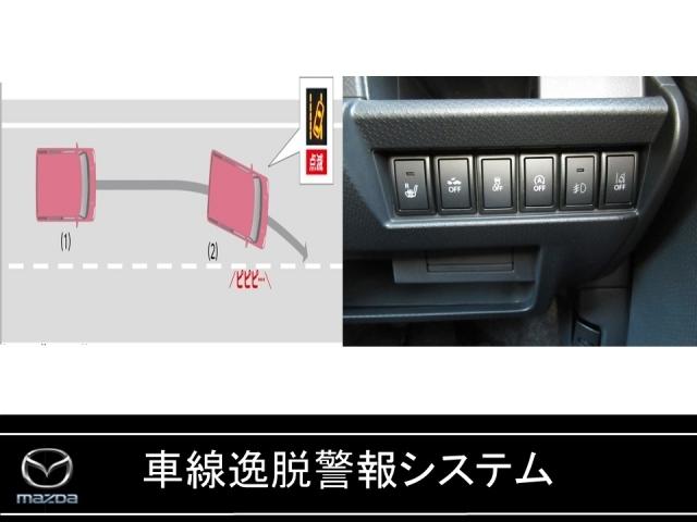 車線逸脱を防止する警報装置システム!