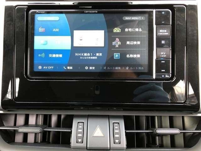 カロッツェリア7型ナビゲーションです。地デジフルセグTVナビDVD再生音楽録音機能、Bluetooth搭載。