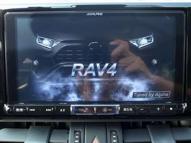 Aプランにてアルパイン車種専用BIGX9インチナビゲーションナビ連動ビルトインETCのセットプランとなります。走行中のナビ操作やTV視聴もできるようにセッティングいたします。