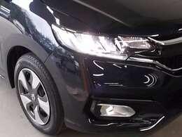 LEDヘッドライトとフォグライトが暗い夜道のドライブを明るくサポートします。