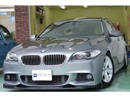 BMW 5シリーズ 528i 本革 車高調・ローダウン フルセグ