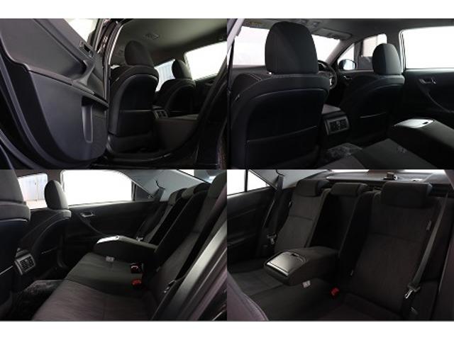 ●奥様、ご友人、はたまた上司が乗られてもきっとご満足頂けるゆとりと、乗り心地を実現した後部座席。