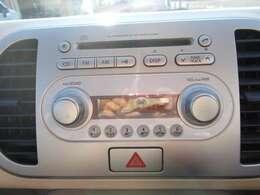 純正CDオーディオです!ドライブも楽しくなりますよ!