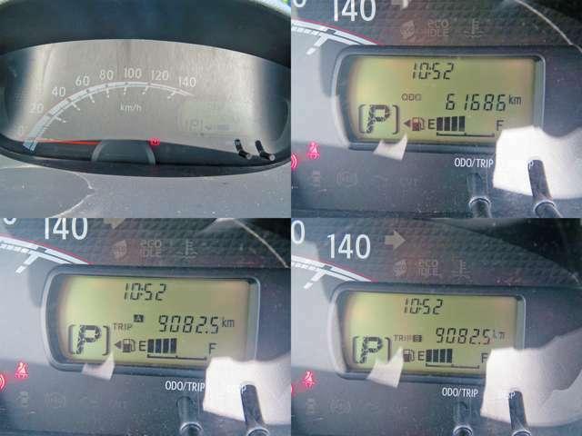 走行距離は61,686kmです!長く乗るにはピッタリな1台です!!