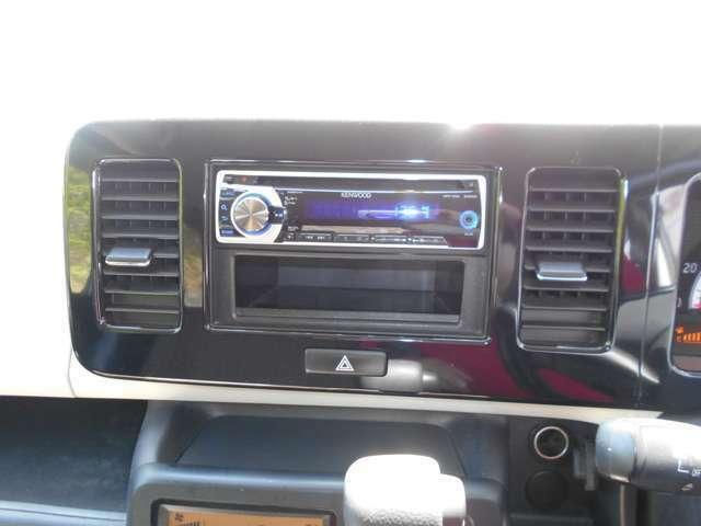 オーディオはCD/ラジオを装備♪