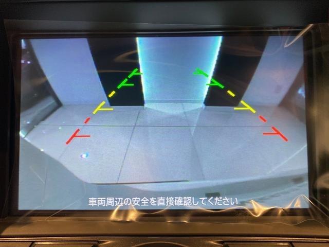 後方の視界もアシストラインもひき、ステアリングの操舵で予測ラインをだしてくれます。