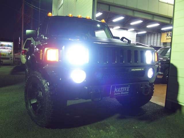 純白HIDヘッドライト&LEDフォグライトに交換済みです!