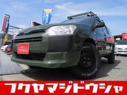 トヨタ プロボックスバン 1.5 DX コンフォート 全塗装新品リフトUP TRUZOキャリア