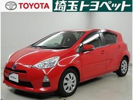 トヨタ アクア 1.5 S メモリーナビ ワンセグ ETC
