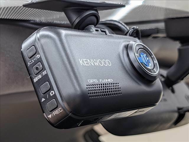 安心安全なドライブレコーダー付き。