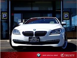 BMW 6シリーズ 640i 白本革 LEDヘッドライト SR 1年保証