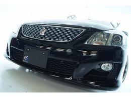 トヨタ クラウンアスリート 2.5 ナビパッケージ 新品19ホイール 新品タイヤ 新品車高調