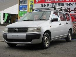 トヨタ プロボックスバン 1.5 DX 4WD 冬用AW4本/外CD/ETC/車検1年