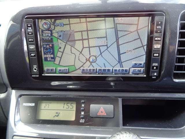 ★ナビゲーション装着車!・・・簡単操作です♪地図データのバージョンアップも可能です^^