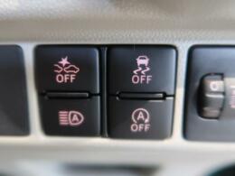 【スマートアシスト】走行中に前方の車両と歩行者を認識。衝突の危険が高いと判断した場合に警報や緊急ブレーキで衝突回避や衝突時の被害を軽減。さらに車線逸脱警報・前後誤発進抑制機能もセットで装備!