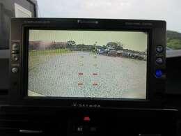 バックカメラも装備しておりますので、駐車の際も◎!