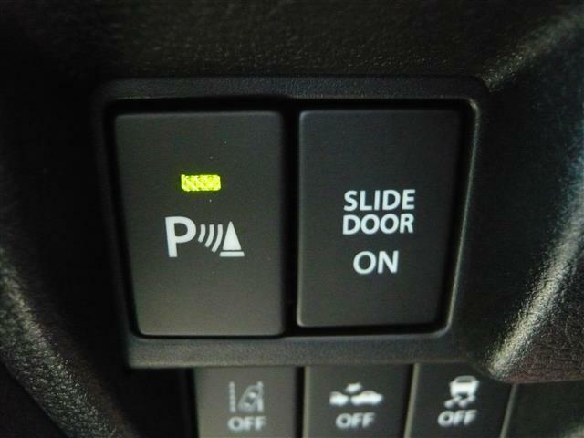 クリアランスソナー装着車!駐車の際に障害物が近づくとブザーでお知らせしてくれる頼りになる機能!大事なお車を傷付けないための嬉しい機能です