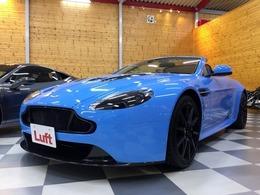 アストンマーティン V12ヴァンテージロードスター S スポーツシフトIII D車 限定カラー ポップアップナビ